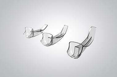 医用可视喉镜片