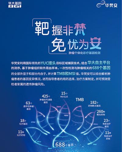 华梵安--肿瘤个体化诊疗基因检测