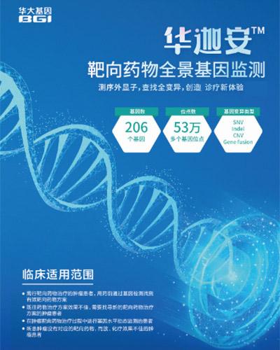 华迦安靶向药物全景基因监测