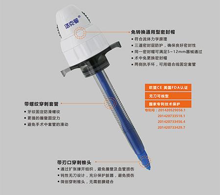 一次性使用/微創/腹腔鏡/套管穿刺器