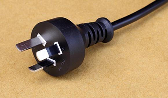 澳洲电源线,澳式3插插头