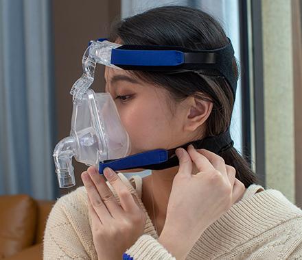 呼吸器面罩头帯